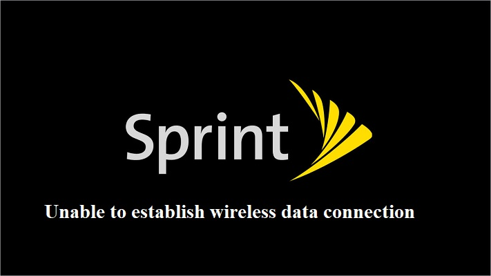 Sprint Unable To Establish Wireless Connection