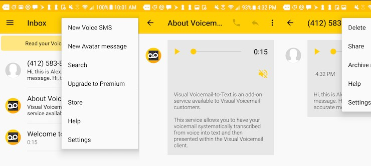 sprint voicemail not working