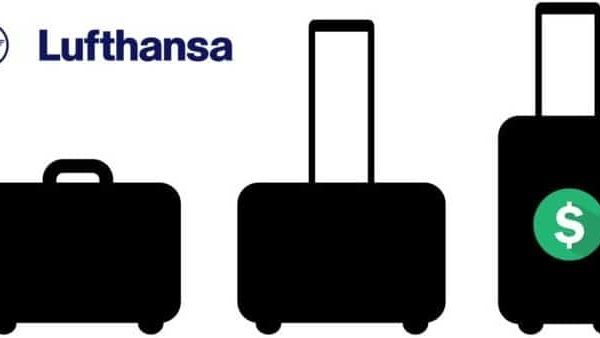 lufthansa airlines extra baggage fee