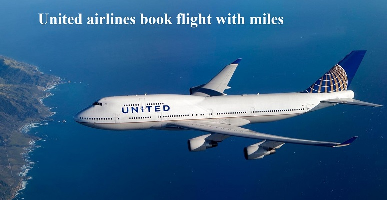 united airlines book flight with miles